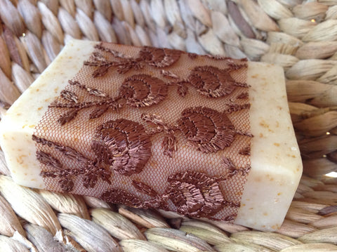 fragonia soap. moisturising and exfoliating