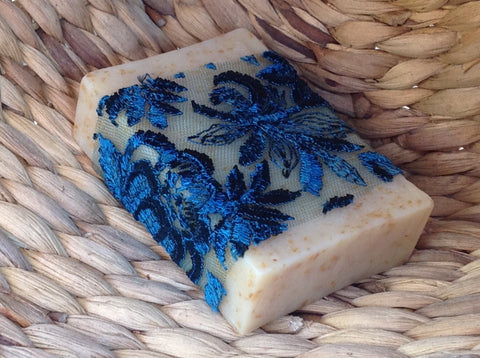 ylang ylang soap. moisturising and exfoliating