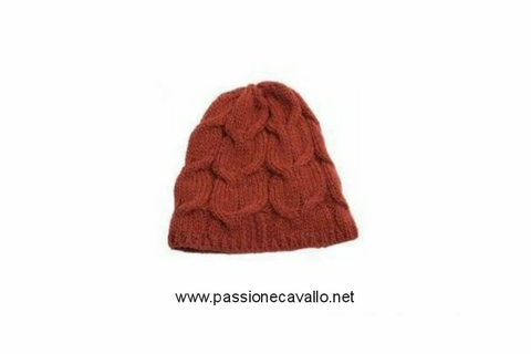 Cappello -Senta- disponibile arancione, con interno in pile.