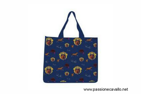 Royal equestrian shopping bag  34x40x22