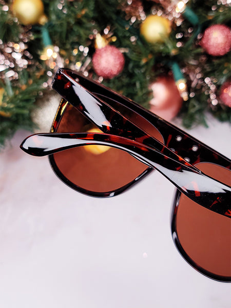Streamline Oversized Modern Sunglasses