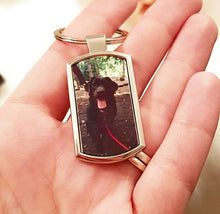 Load image into Gallery viewer, Personalised Photo Printed Keyring