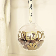 Load image into Gallery viewer, Dog and Cat Personalised Baubles