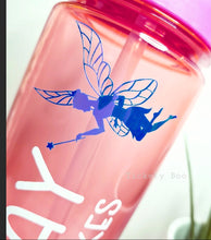 Load image into Gallery viewer, Pink Personalised Water Bottle