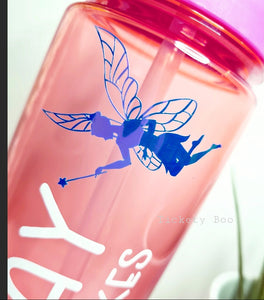 Pink Personalised Water Bottle