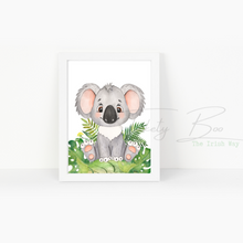 Load image into Gallery viewer, A4 Safari Print Nursery Print