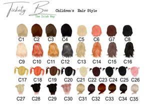 childrens hair