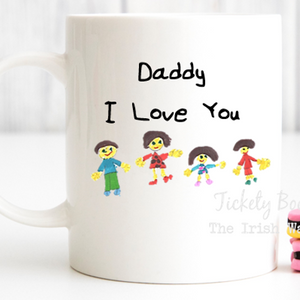 Personalised Childrens Art Mug