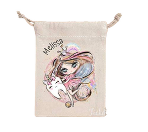 Personalised Tooth Fairy Bag