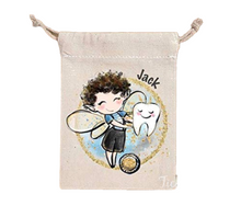 Load image into Gallery viewer, Personalised Tooth Fairy Bag