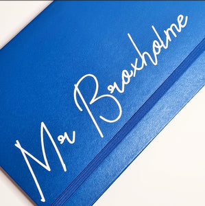 A5 Personalised Leather Notebooks