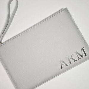 Personalised Inital Boutique Clutch Bag