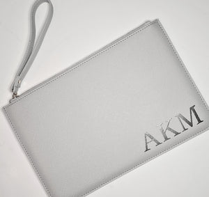Personalised Bride Boutique Clutch Bag