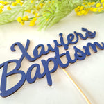 Personalised Celebration Cake Topper - Custom Topper