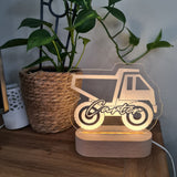 Personalised Night Light 🌙 - Construction Truck