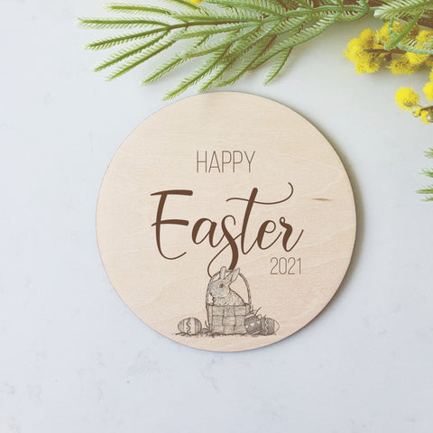 Happy Easter - Milestone Disc