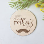 Happy Father's Day - Large Prop Disc Plaque