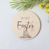 My First Easter - Milestone Disc