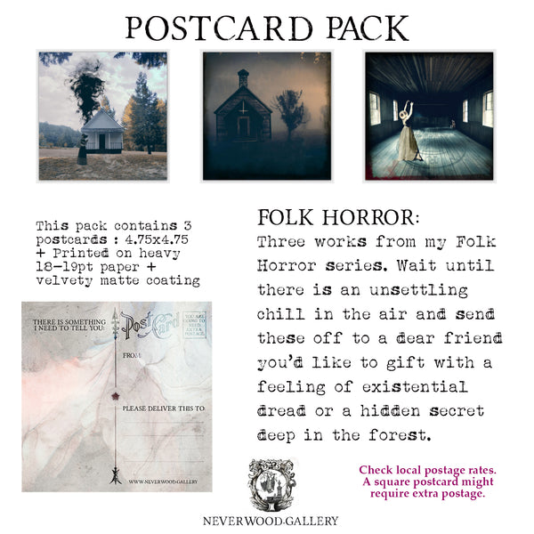 Postcard Pack: Folk Horror
