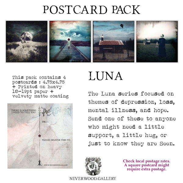 Postcard Pack: Luna