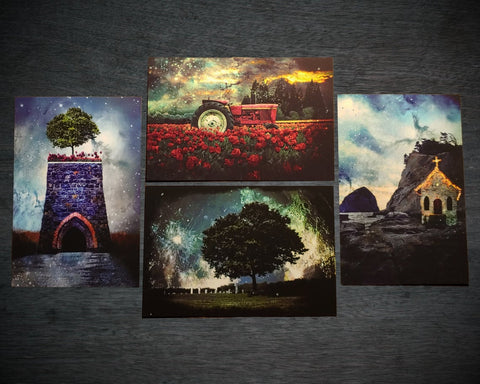 Postcard Pack: Imagination Obscura