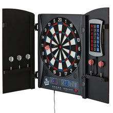 "Load image into Gallery viewer, Fat Cat Mercury Electronic Dartboard, 13.5"" Compact Target"