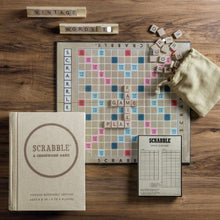Load image into Gallery viewer, Scrabble Vintage Bookshelf Edition