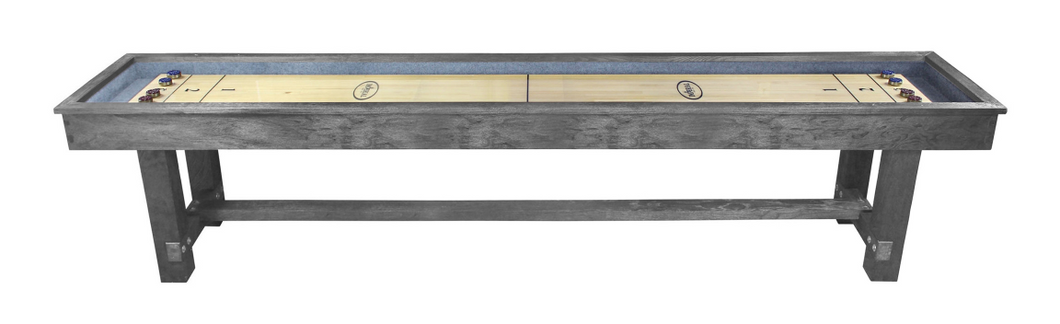 IMPERIAL RENO 12-FT. SHUFFLEBOARD TABLE; SILVER MIST