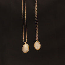 Load image into Gallery viewer, Freshwater Shells Pendant-Baroco style necklace
