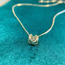 Load image into Gallery viewer, LUCKY U Pendant-925 Sterling Silver necklace