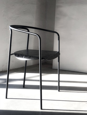 Saddle Chair - Industrial Minimalism