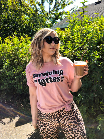 Surviving on Lattes - Desert Pink - Moody and Peachy