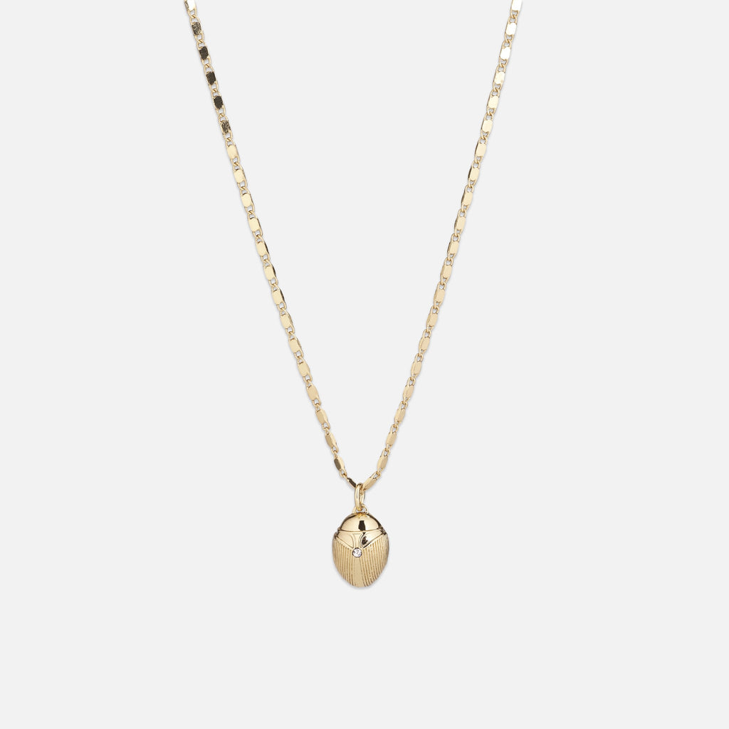 North North North 14k gold plated necklace | Bille Necklace Gold