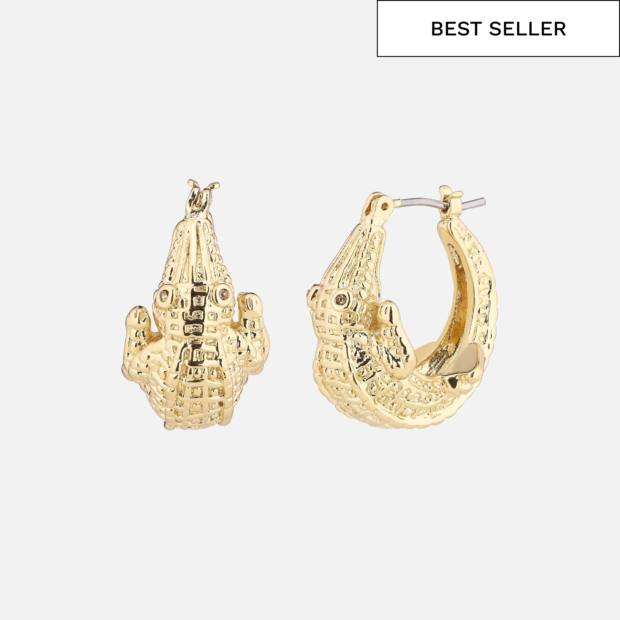 North North North Gold Earrings | Dundee Earring Gold