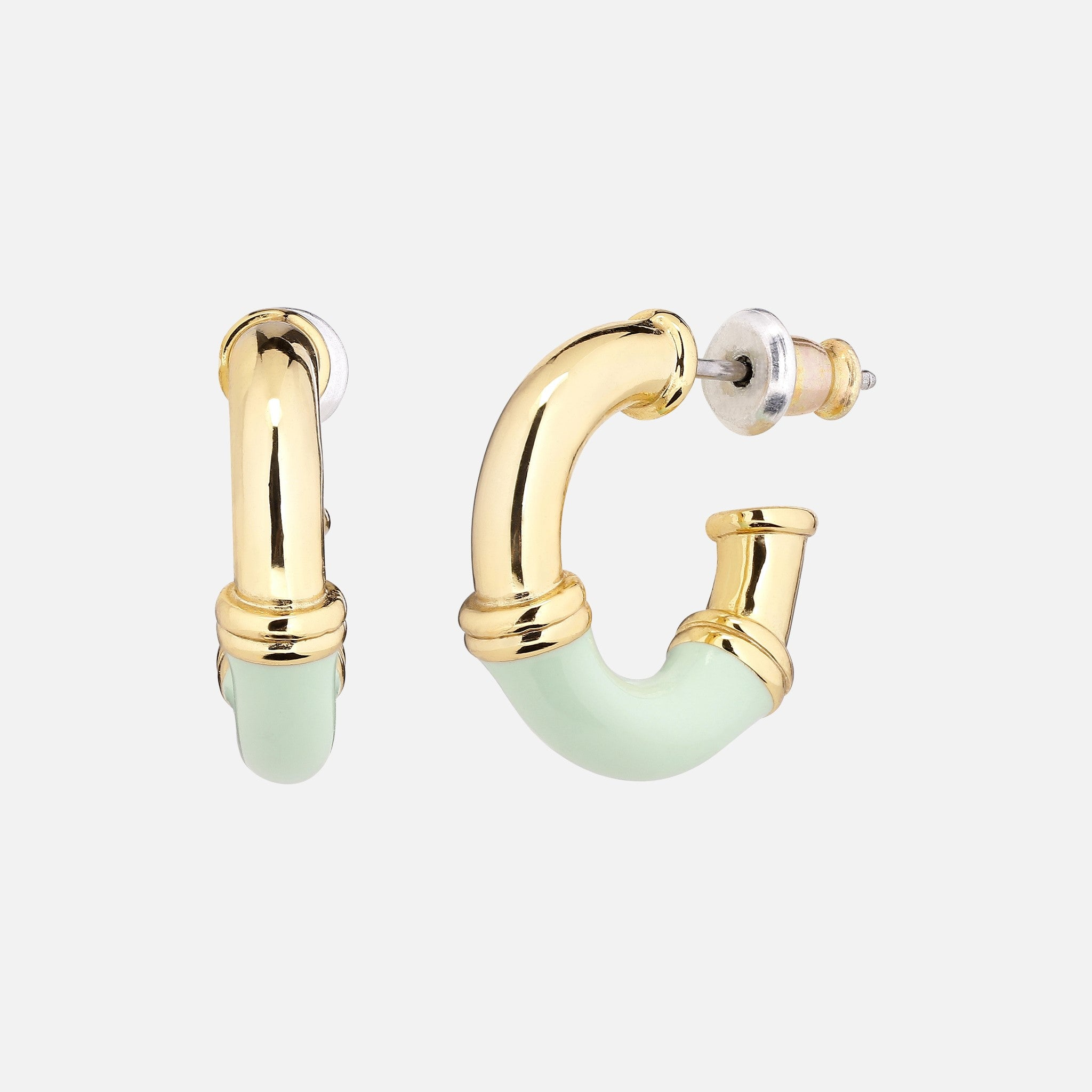 North North North Gold Earrings | Nielsen Earring Gold