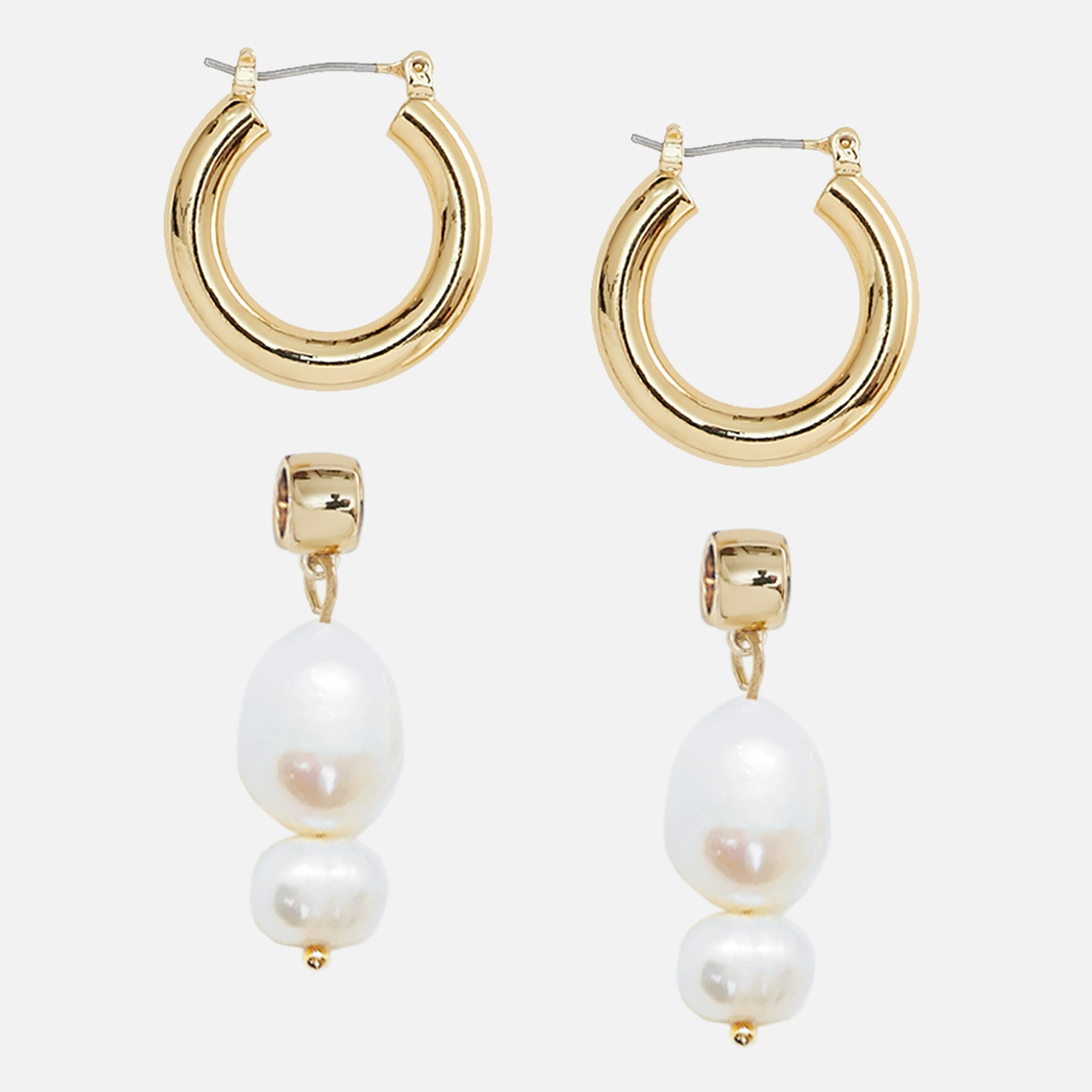 North North North Gold Pearl Earrings | Johnson Earring Gold