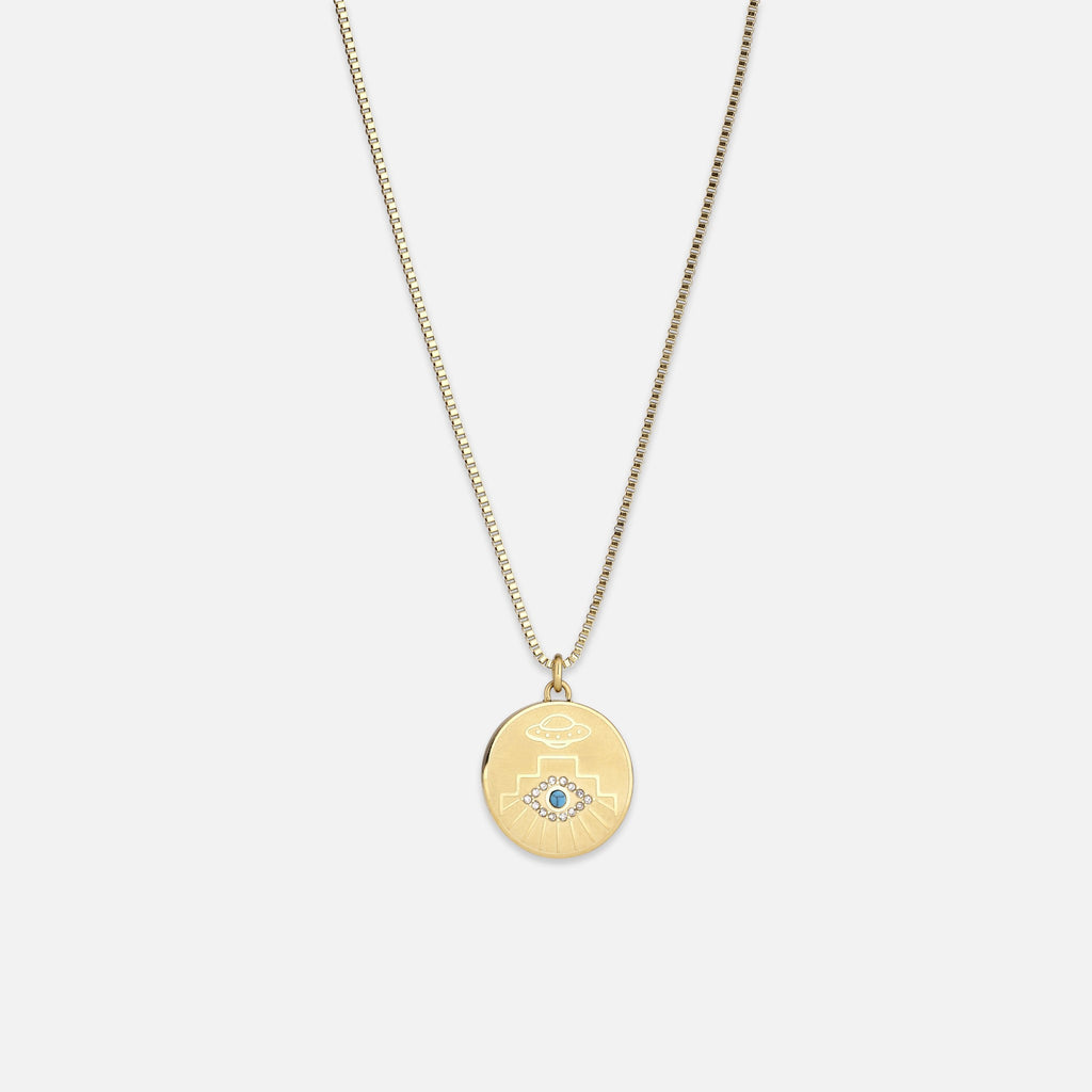North North North Uffe Necklace Gold