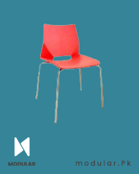 1893-S-Red_ Café Chair