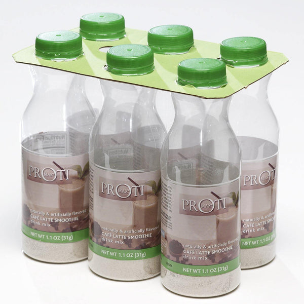 Café Latte 6 pk Bottle Shakers