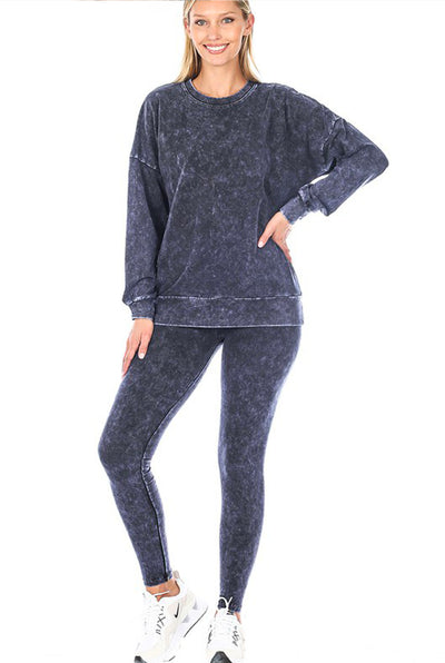PULLOVER AND LEGGINGS SET