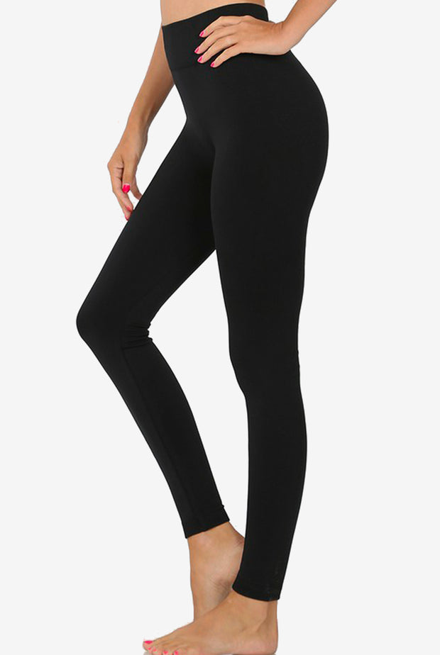 FLEECE LINED SEAMLESS LEGGINGS