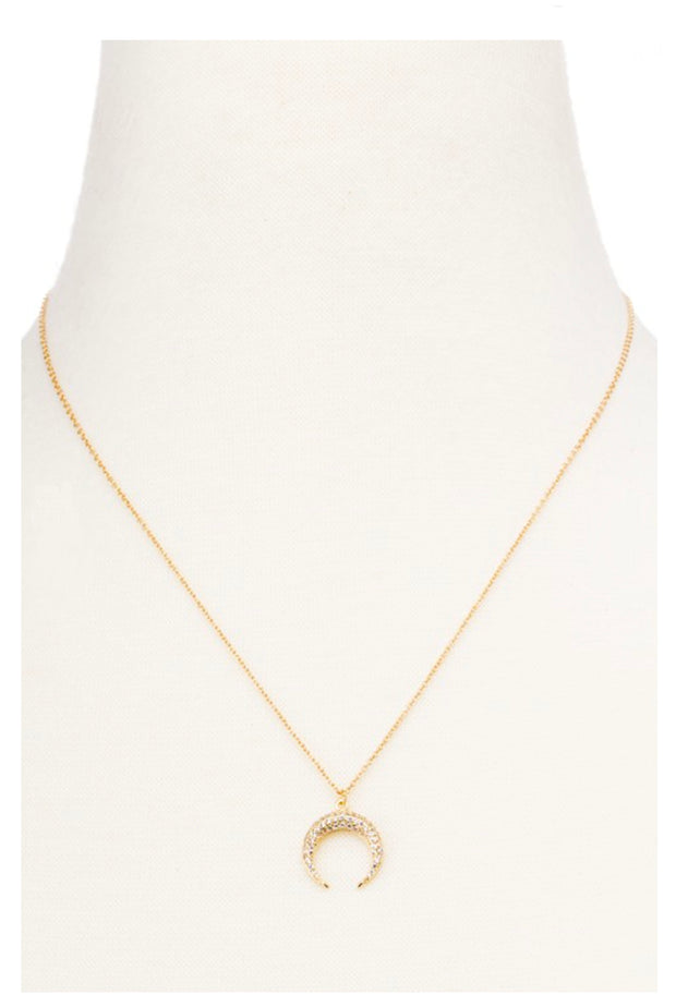 DAINTY HORN NECKLACE