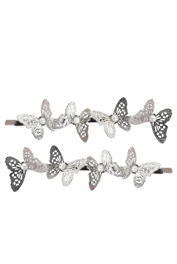 BUTTERFLY HAIRPINS