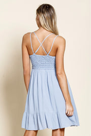 LACED BRALETTE  MINI DRESS