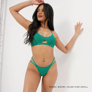 JJ3: Bralette in Green