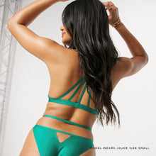 Load image into Gallery viewer, JJ3: Bralette in Green