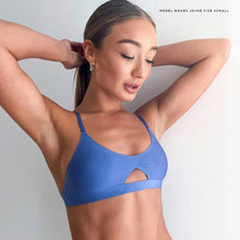 Load image into Gallery viewer, JJ3: Bralette in Blue