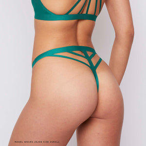 JJ6: Thong in Green