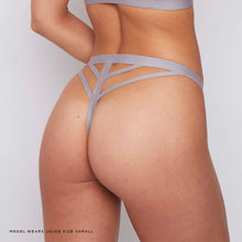 Load image into Gallery viewer, JJ6: Thong in Grey