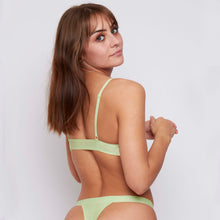 Load image into Gallery viewer, JJ13: 2 Pack Bralettes in Mint+White